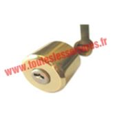 Cylindre Anker Magnet 3800 intérieur-extérieur pour verrou ou serrure MONOBLOC