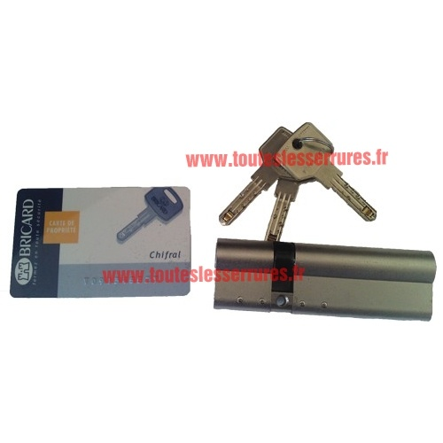 Cylindre Bricard Chifral longueur 101 mm