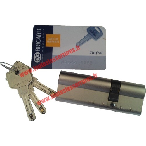 Cylindre Bricard Chifral longueur 91 mm