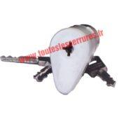 Cylindre Bricard ovoïde sans bille