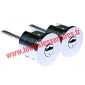 Jeu de 2 cylindres Anker Magnet 3800 à languette pour verrou ou serrure monobloc