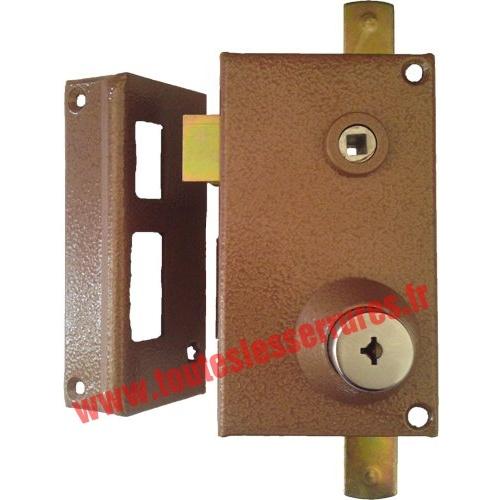 Serrure Bricard Supersûreté 3 points à bille verticale main gauche