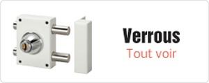 Vente de verrous en ligne et à Paris 12 avec la Serrurerie Meunier